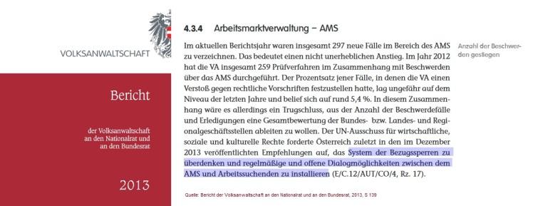 2018-04-05_Bericht-Volksanwaltschaft-2013_Bezugssperren_offene-Dialogmoeglichkeiten
