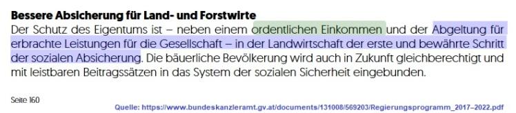 2018-01-13_regierungserklaerung_schutz-des-eigentums-erfordert-auch-fuer-LandwirtInnen-im-Nebenerwerb-ordentliches-Einkommen
