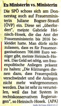 2018-07-27_die-presse_frauenministerin-kuerzt-budgets-von-frauenorganisationen_kritik